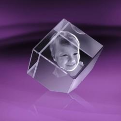 Fotka do skla | kostka useknutá 4x4x4 cm