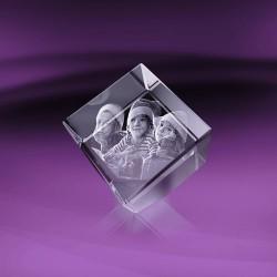 Fotka do skla | kostka useknutá 8x8x8 cm