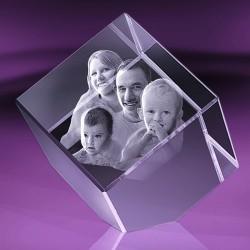 Fotka do skla | kostka useknutá 10x10x10 cm
