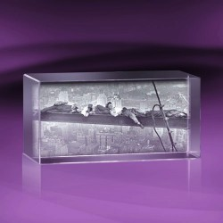 Fotky do skla | kvádr 10x20x10 cm