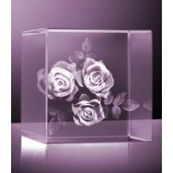 3D růže