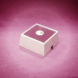 LED stojan bateriový kostka