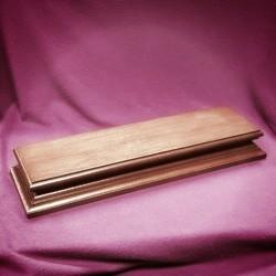 Stojan dřevěný podlouhlý