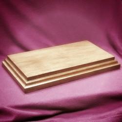 Stojan dřevěný velký nízký 20x10