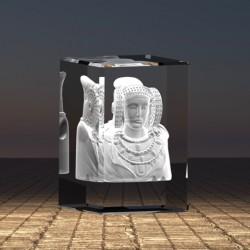 3D socha Dáma z Elche