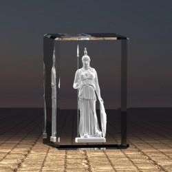 3D socha Athéna