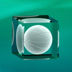 3D basketbalový míč