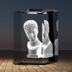 3D bysta Adam