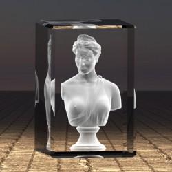 3D bysta ženy
