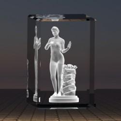 3D socha ženy 3