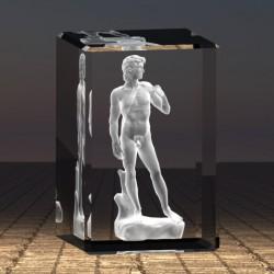 3D socha Davida