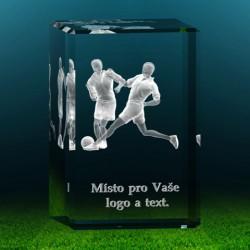 3D fotbaliste