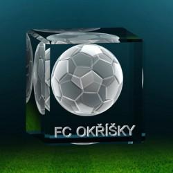 3D fotbalový míč