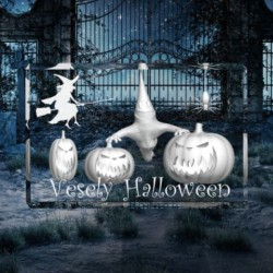 3D Halloween - dýně