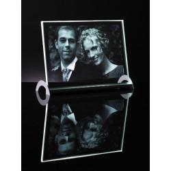 2D sklo 16x22 cm s LED podstavcem