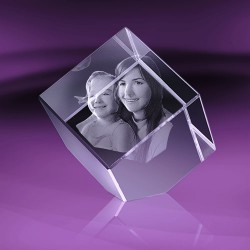 Fotka do skla   kostka useknutá 5x5x5 cm