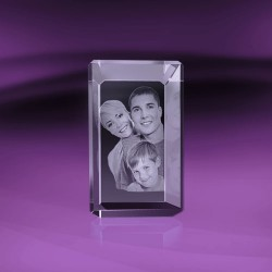 Fotky do skla | kvádr 6x9x6 cm