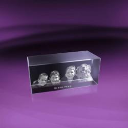 Fotky do skla | kvádr 15x6x6 cm