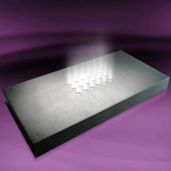 LED stojánek černý střední